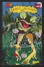 BEAVIS AND BUTTHEAD MINI-COMIC VERY RARE WIZARD MTV MARVEL COMICS CULT CLASSIC