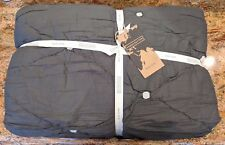 WEST ELM ~ NATALIE EMBROIDERED QUILT ~ SLATE GRAY ~ FULL / QUEEN