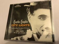 CITY LIGHTS (Charles Chaplin, Carl Davis) OOP '91 Soundtrack Score OST CD SEALED