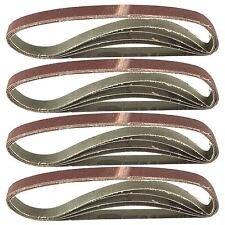 Belt Power Finger File Sander Abrasive Sanding Belts 457mm x 13mm 80 Grit 20 P