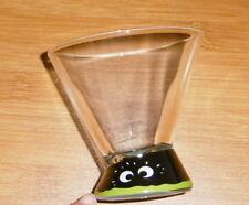 8x Cocktail Glas mit lustigen Augen von Kleiner Feigling in OVP
