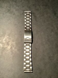 bracelet montre acier 19mm