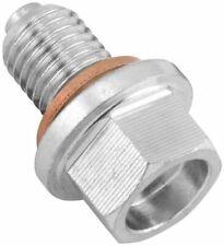 BikeMaster Magnetic Oil Drain Plug Steel 12MM/1.5 FHM050-S12-1.5 12mm x 29-12Z