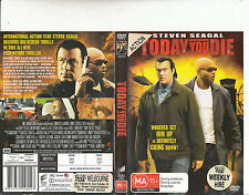 Today You Die-2005-Steven Seagal-Movie-DVD
