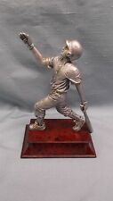 small male Baseball statue trophy resin award home run Pdu 55603Gs