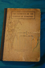 Elements of Geology in Tennessee Safford & Killebrew Ambrose Ptg Nashville TN