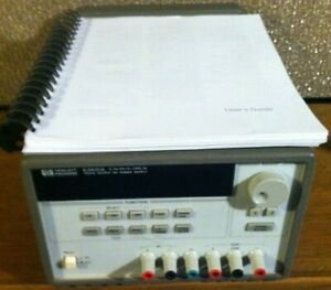 Agilent (HP)  E3631A Triple Output Programmable DC Power Supply (CC/CV) +6 +/-25