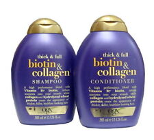 Organix Thick & Full Biotin & Collagen Shampoo AND Conditioner Set (13 Oz each)