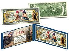 American CIVIL WAR * 150th Anniversary * Legal Tender U.S. $2 Bill *MUST SEE*