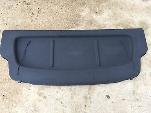 NEW OEM NISSAN 2014-2019 VERSA NOTE REAR CARGO COVER - BLACK COLOR ONLY
