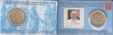 B) VATICANO COIN CARD 50 CENTESIMI CON FRANCOBOLLO DEL 2013 FDC