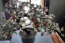 LARGE glass Japanese bonsai tree