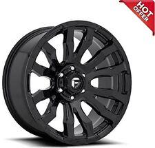20x9 Fuel Wheels D675 Blitz 8x17000 Gloss Black 1 S42 Fits Nissan Armada