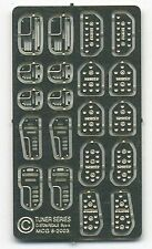The Model Car Garage MCG-2256 Tuner Series Custom Pedals for 1/24-1/25 sc kits