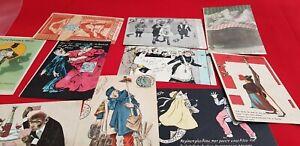 Set Of 10 Postcards CPA D'Illustrateurs Illustration REF42907