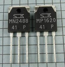 MN2488-P & MP1620-P Power Transistors : 1 pair ( 1 each ) per Lot