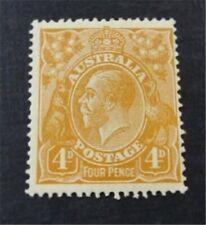 nystamps British Australia Stamp # 31 Mint OG H $50