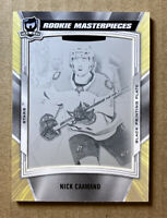2019-20 The Cup Nick Caamano ROOKIE MASTERPIECES 1/1 1 OF 1 PRINTING PLATE STARS