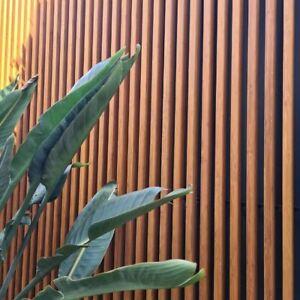 Screening & Custom Panels - Solid Bamboo Timber & Aluminium