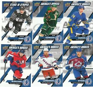 20/21 2021 Upper Deck National Hockey Card Day USA Pick Your Card Complete Set