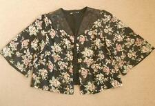 Women's Floral Chiffon Basic Coats & Jackets
