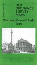 Old Ordnance Survey Map Glasgow Queens Park 1910