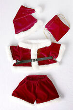 """Teddy Bear Santa Costume Clothes Fit 14""""-18"""" Build-a-bear ! New ! Free Shipping"""