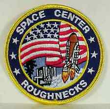 "Armageddon Movie Roughnecks Space Center Logo Embroidered 3.5""  Patch (MIPA-241)"