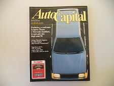 AUTOCAPITAL 4/1986 ALFA ROMEO 75/BMW 325/MERCEDES 190 E/SW/ASTON MARTIN VANTAGE