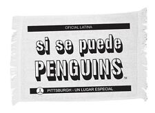 Spanish Pittsburgh Penguins Rally Towel Si Se Puede PENGUINS! Latina
