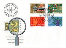 SWITZERLAND 1972 PUBLICITY RAILWAY FIRST DAY COVER FDI