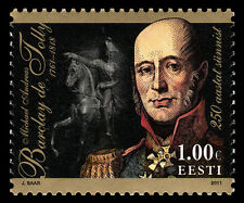 Stamp of ESTONIA 2011 - 250th Birth Anniv.of Michael Andreas Barclay de Tolly