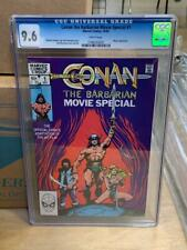 CONAN THE BARBARIAN Movie Special #1, (1982), Marvel Comics CGC 9.6