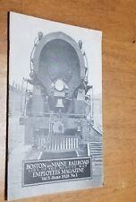 BOSTON & MAINE RAILROAD EMPLOYEES MAGAZINE VOL 5 June 928 no. 3 MINUTE MAN LINE