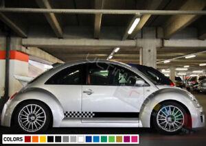 Doors Sticker Stripe kit for Volkswagen VW Beetle door mirror 2002 203 2004 2005