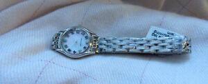 BirthStone Silver Case Watch with Stainless Steel Strap - 12 birthstones