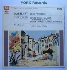 SXLP 20078-la música de Chabrier & Massenet Pierre Dervaux-ex con Disco Lp