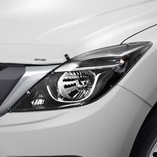 New Genuine Mazda BT-50 UP UR Head Lamp Head Light Protectors Covers UP11ACHLP