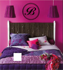 Monogram Personalized Sign Wall Sticker Wall Art Decor Vinyl Decal Stickers