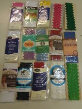 15 ASSORTED  RICK RACK TRIMS SEWING NOTIONS