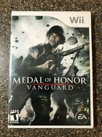 Medal of Honor: Vanguard (Nintendo Wii) New Factory Sealed - Free Shipping