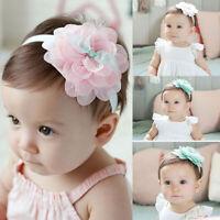 les enfants mignon bébé bandeau bande de cheveux lace fleur fille coiffure