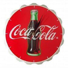 COCA COLA COKE BOTTLE WALL CLOCK  DECOR  NEW!