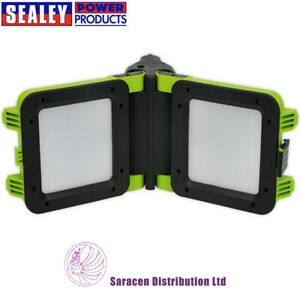 SEALEY RECHARGEABLE FLOODLIGHT 20W SMD LED FOLDING CASE - LED190T