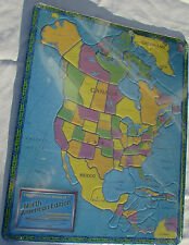 The Continent Puzzles North American Edition Brand New Original Wrap Unopened A2