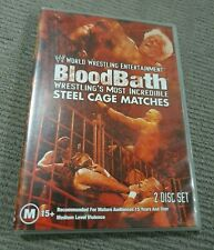 WWE BLOOD BATH MOST INCREDIBLE STEEL CAGE MATCHES DVD 2006 NTSC
