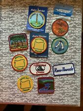 Lot Of 10 Vintage Misc. Iron-on Patches, Oregon & Reno