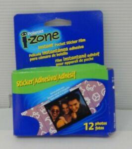 Vintage Poloroid i-zone Instant Pocket Sticker Film (12 Photos)