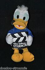 Peluche Doudou Donald DISNEYLAND Paris Walt Disney Studios 24 Cm TTBE