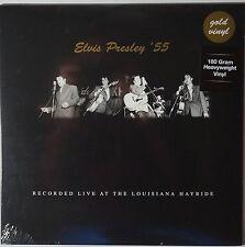 Elvis Presley - Live at the Louisiana Hayride LP 180g gold vinyl NEU/SEALED